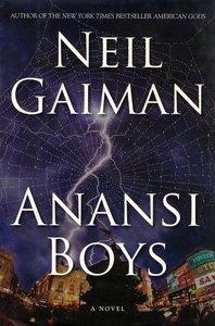 "<em class=""BookTitle"">Anansi Boys</em>, Neil Gaiman"