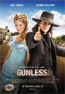 "<strong class=""MovieTitle"">Gunless</strong> (2010)"