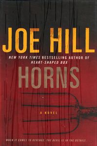 """<em class=""""BookTitle"""">Horns</em>, Joe Hill"""