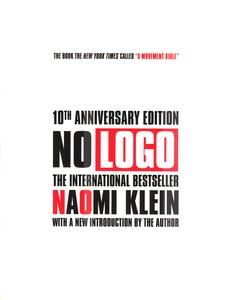 """<em class=""""BookTitle"""">No Logo</em>, Naomi Klein"""