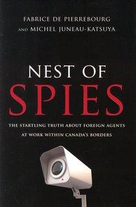"""<em class=""""BookTitle"""">Nest of Spies</em>, Fabrice de Pierrebourg & Michel Juneau-Katsuya"""