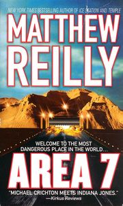 "<em class=""BookTitle"">Area 7</em>, Matthew Reilly"
