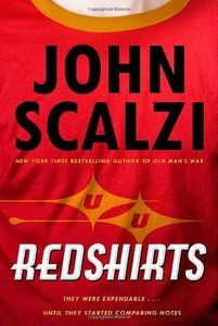 "<em class=""BookTitle"">Redshirts</em>, John Scalzi"
