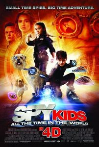 "<strong class=""MovieTitle"">Spy Kids: All the Time in the World in 4D</strong> (2011)"