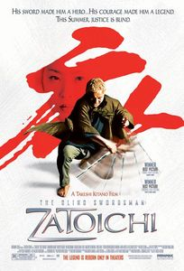 "<strong class=""MovieTitle"">Zatôichi</strong> [<strong class=""MovieTitle"">Zatoichi: The Blind Swordsman</strong>] (2003)"